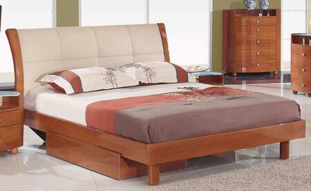 Global Furniture USA EVELYNCHQB Evelyn Series  Bed