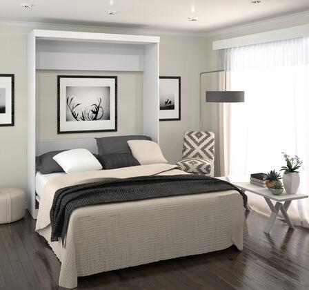 Bestar Furniture 26184 Pur by Bestar Queen Wall bed