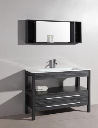 Vanity and Cabinet Set