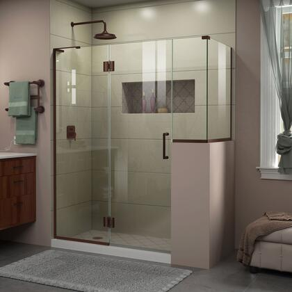 DreamLine Unidoor X Shower Enclosure 24HP 24D 12BP 30RP 06