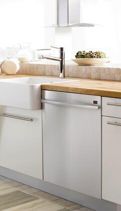 "Asko D5644XLCS 24"" Built-In Fully Integrated Dishwasher with 16 Place Settings Place Settingin Stainless Steel"