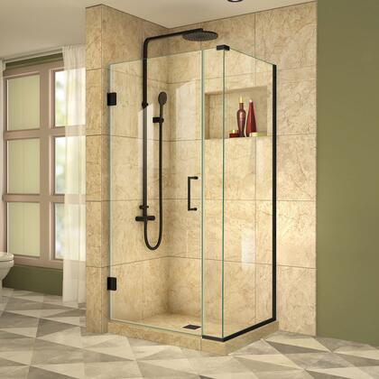 DreamLine Unidoor Plus Shower Enclosure RS39  30D 6IP 30RP 09