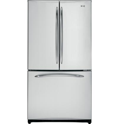 GE PFSS5NFCSS Profile Series  French Door Refrigerator with 24.9 cu. ft. Total Capacity 2 Glass Shelves