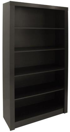 """Accentuations Olinda 1.0 Collection 27AMCXX 72"""" Open Bookcase with 5 Wide Rectangular Shelves and Sleek Contemporary Style in"""