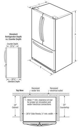 frigidaire french door refrigerator manual