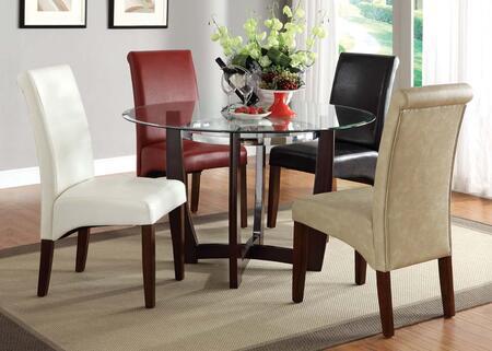 Acme Furniture 7005 Baldwin PU Side Chair: