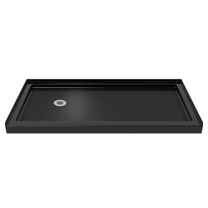 SINGLE THRESHOLD BASE 60 L Black Finish