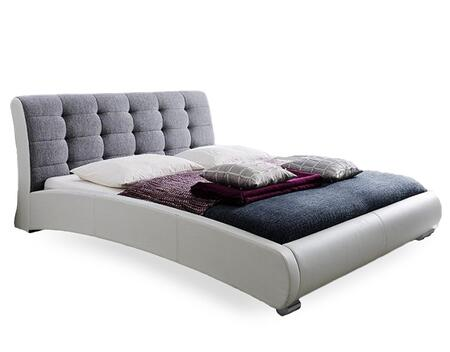 Wholesale Interiors Baxton Studio CF8540 Guerin Platform Bed with ...