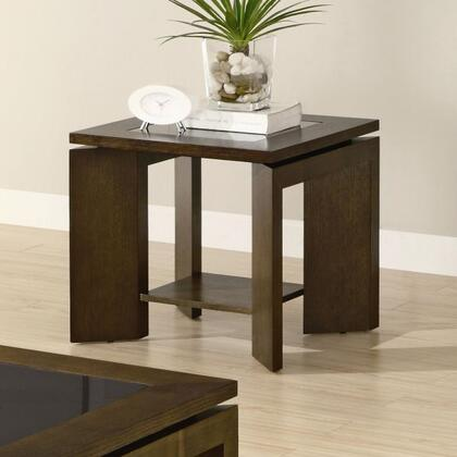 Coaster 701337 Contemporary Wood  End Table
