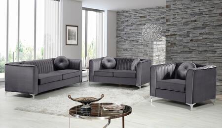 Meridian 739633 Isabelle Living Room Sets