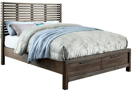 Furniture of America CM7576DRQBED Hankinson Series  Queen Size Bed