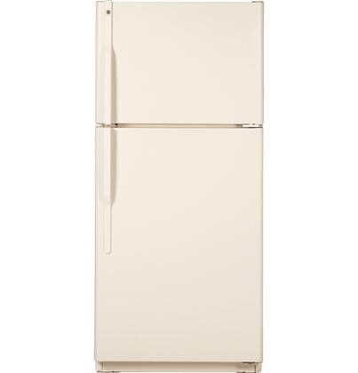 GE GTS18ICSRCC Freestanding Top Freezer Refrigerator with 18.0 cu. ft. Total Capacity 3 Glass Shelves 5.09 cu. ft. Freezer Capacity
