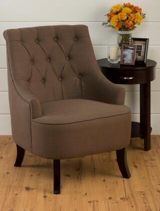 Jofran STELLACH Stella Tufted Accent Chair