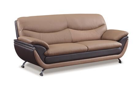 Global Furniture USA U2106RVS  Bonded Sofa