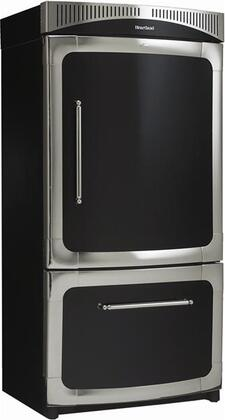 "Heartland 311500LCRN 36"" Classic Series Counter Depth Bottom Freezer Refrigerator with 20 cu. ft. Total Capacity 5.5 cu. ft. Freezer Capacity 4 Glass Shelves"