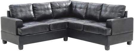 Glory Furniture G583BSC G580 Series Stationary Bycast Leather Sofa