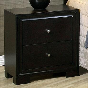 Yuan Tai ME7003N Melbourne Series  Wood Night Stand