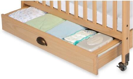 """Foundations Serenity Series 4034XXX 36"""" EZ Store Crib Drawer with Hooded Drawer Pull"""