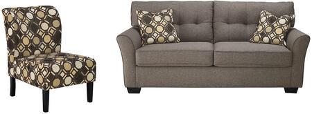 Milo Italia MI8120SACSLAT Deangelo Living Room Sets