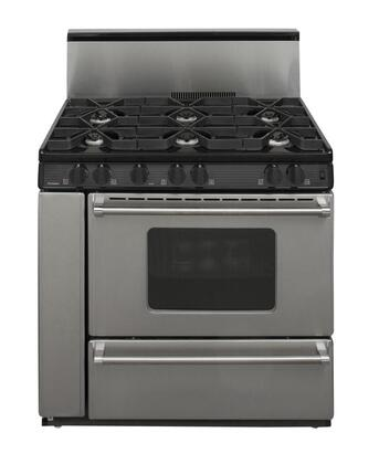 Premier P36s3282p 36 Inch Gas Freestanding Range With