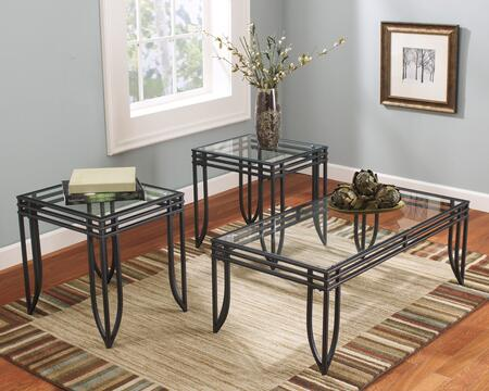 Signature Design by Ashley T11313 Contemporary Living Room Table Set
