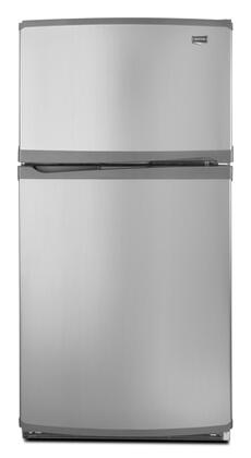 Maytag M0RXEMMWM Freestanding Top Freezer Refrigerator with 19.7 cu. ft. Total Capacity 4 Glass Shelves 5.7 cu. ft. Freezer Capacity