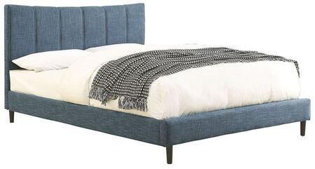 Furniture of America CM7678BLEKBED Ennis Series  Eastern King Size Bed
