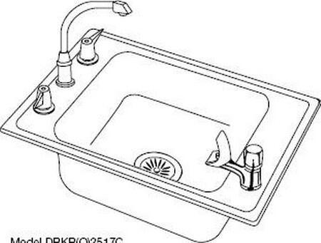 Elkay DRKAD2220400  Sink