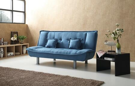 Glory Furniture G503S G500 Series Convertible Suede Sofa