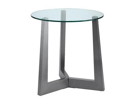 Stein World 103021 Rimini Series Contemporary Round End Table