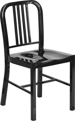 "Flash Furniture CH-31200-18-GG 18"" High Metal Indoor-Outdoor Chair"