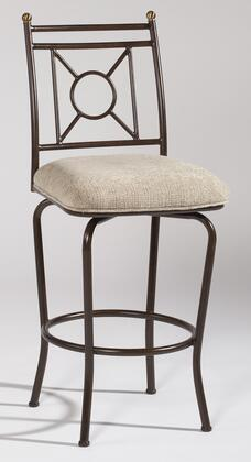 Chintaly 0719BS Residential Cream Upholstered Bar Stool