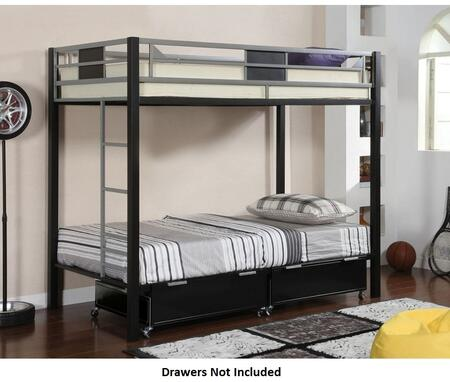 Furniture of America CMBK1021 Clifton Series  Twin Size Bed