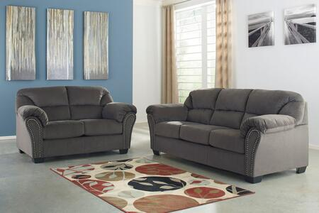Milo Italia MI9042SLCHAR Madison Living Room Sets