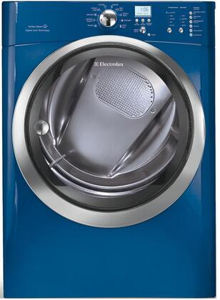 "Electrolux EIMGD60J 8.0 cu. ft. Capacity 27"" Gas Dryer, IQ-Touch Electronic Controls, Fastest Dry Time, Perfect Steam Dryer, Luxury-Quiet Sound System:"