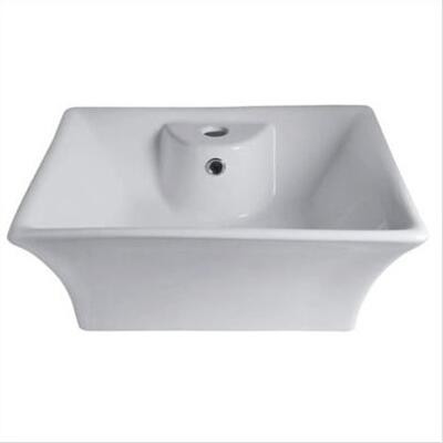 Belle Foret BFVL13WH Bath Sink