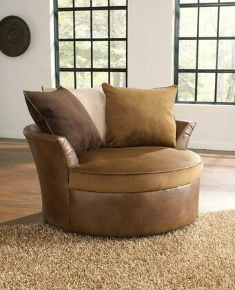 Jackson Furniture 445666 Armchair Fabric: Polyester Suede & PU Vinyl Wood/Steel Frame Accent Chair
