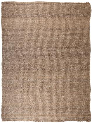 """Signature Design by Ashley Textured R40150 """" x """" Size Rug with Hand-Tucked Ends, Hand-Woven Made, Made in India, Jute Material, Indoor Use and Spot Clean Only in Tan and White Color"""