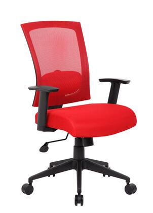 "Boss B6706RD 25"" Adjustable Contemporary Office Chair"