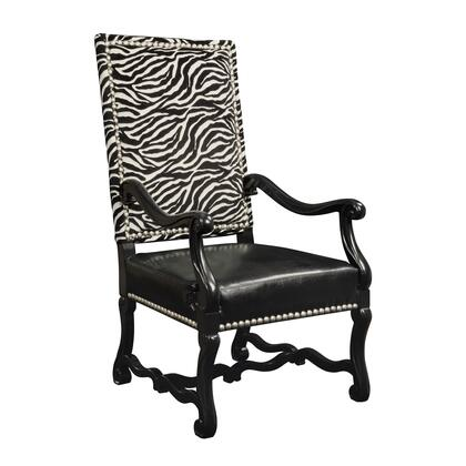 Sterling 6071058 Wallace Series Armchair Fabric Wood Frame Accent Chair