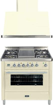 Ilve 721420 Majestic Techno Kitchen Appliance Packages