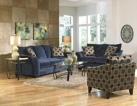 Jackson Furniture 3252K1IN Contemporary Suede fabric Living Room Set