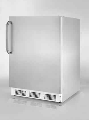 Summit BI540CSSAM  Compact Refrigerator with 5.3 cu. ft. Capacity in Stainless Steel
