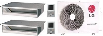 LG 701832 Dual-Zone Mini Split Air Conditioners