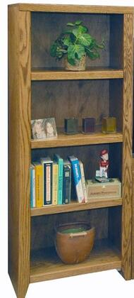 Legends Furniture CL3203GDOContemporary Series Wood 3 Shelves Bookcase