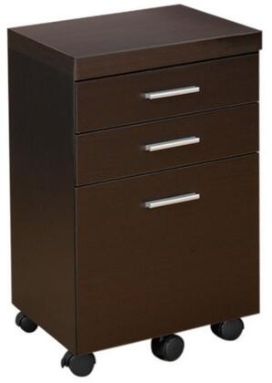 "Coaster 800894 18.25"" Wood Contemporary File Cabinet"