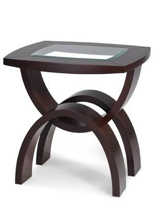 Magnussen T135103 Helix Series modern/contemporary Rectangular End Table