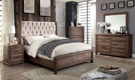 Furniture of America CM7577EKBEDSET Hutchinson King Bedroom