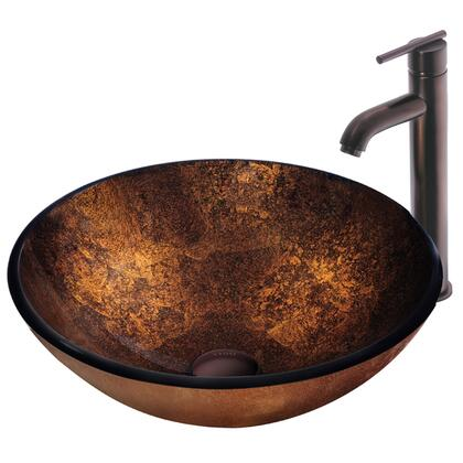 Vigo VGT128 Oil Rubbed Bronze Bath Sink