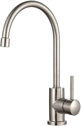 Kraus KPF21 Stainless Steel Series Kitchen Faucet with Stainless Steel Construction, High-Performance, Neoperl Aerator, and Kerox Ceramic Cartridge, Stainless Steel Finish